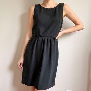 J Crew Black Classic Dress 4